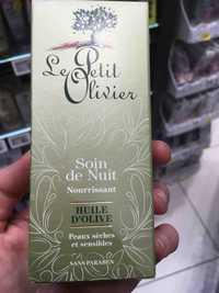 LE PETIT OLIVIER - Huile d'olive - Soin de nuit nourrissant