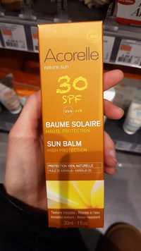 Acorelle - Baume solaire haute protection SPF 30