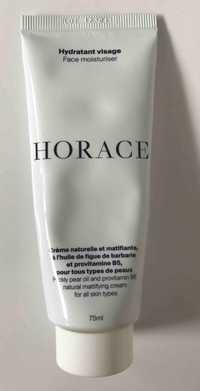Horace - Hydratant visage - Crème naturelle et matifiante