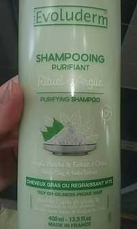 EVOLUDERM - Shampooing purifiant - Rituel d'argile