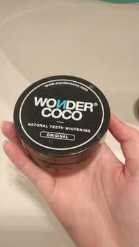 WONDER COCO - Natural teeth whitening