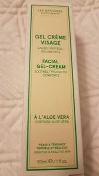 Les Officines - Gel crème visage à l'aloé vera