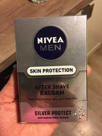 NIVEA MEN - Skin protection - After shave balsam silver protect