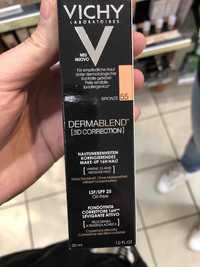 VICHY - Dermablend [3d correction] - Fondo de maquillaje bronze 55
