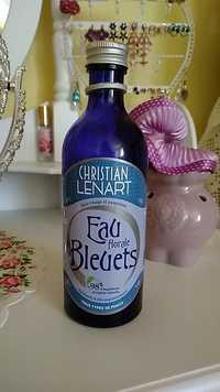 Christian Lénart - Soin visage et paupières - Eau florale de bleuets
