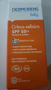 Dermorens - Bébé - Crème solaire SPF 50+ - Visage & corps