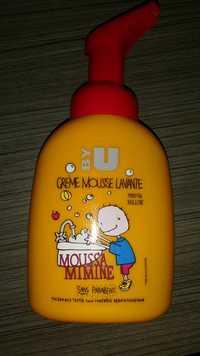 By U - Crème mousse lavante