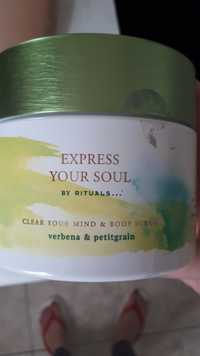 Rituals - Express your soul - Clear your mind & body scrub