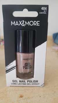 Max & More - Gel nail polish - 404 Alt Control