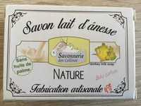 SAVONNERIE DES COLLINES - Nature - Savon lait d'ânesse