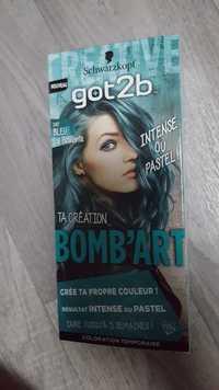 SCHWARZKOPF - Got2b - Bomb'art 097 Bleu La Pétillante