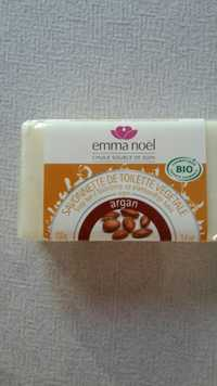 EMMA NOËL - Savonnette de toilette végétale argan