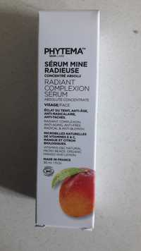 Phytema - Sérum mine radieuse - Radiant complexion serum