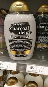 OGX - Purifying + charcoal detox - Conditioner