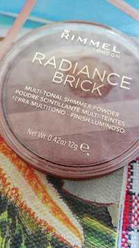 RIMMEL - Radiance brick - Poudre scintillante multi-teintes