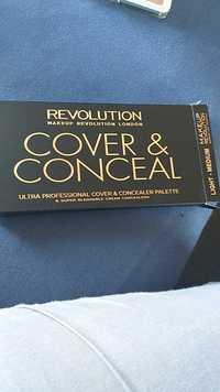 MAKEUP REVOLUTION - Cover & conceal - Super blendable cream concealer