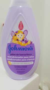 Johnson's - Condicionador para crianças