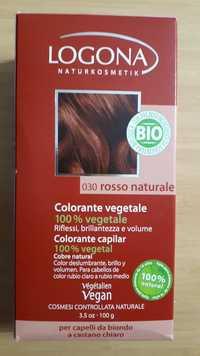 Logona - Colorante végétale bio 030 rosso naturale