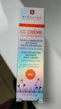 ERBORIAN - Doré - CC Crème à la centella asiatica