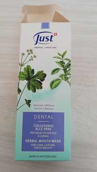 Just - Dental - Herbal mouth wash