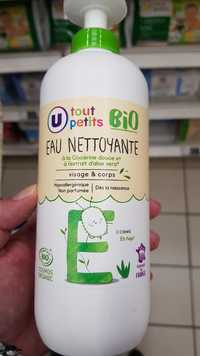 U Tout Petits - Eau nettoyante bébé bio