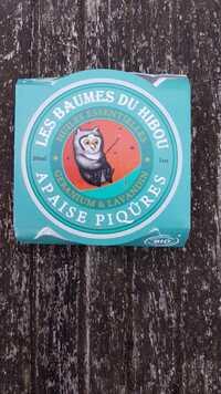 LE SECRET NATUREL - Les baumes du hibou apaise piqûres
