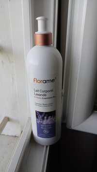 FLORAME - Détente relaxation - Lait corporelle lavande