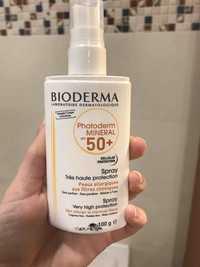 Bioderma - Photoderm mineral spf 50+ - Spray très haute protection