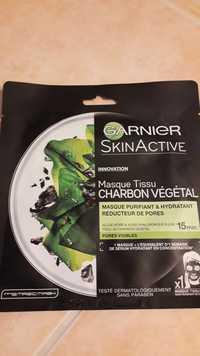 GARNIER - Skinactive - Masque tissu  charbon végétal