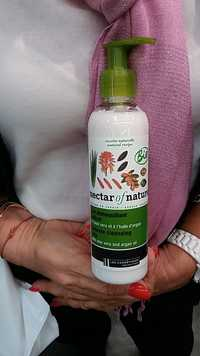 NECTAR OF NATURE - Lait démaquillant délicat à l'aloé vera et à l'huile d'argan