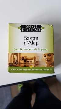 SOINS D'ORIENT - Savon d'Alep - Soin & douceur de la peau aux huiles d'olive et de baies de laurier