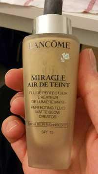 Lancôme - Miracle air de teint 01 - Fluide perfecteur