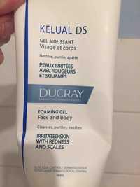 DUCRAY - Kelual ds - Gel moussant visage et corps