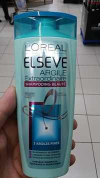 L'Oréal - Elseve - Shampooing beauté argile extraordinaire