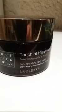 Rituals - Touch of Happiness - Crème riche et nourrissante corps