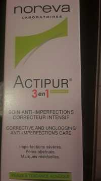Noreva - Actipur - 3 en 1 Soin anti-imperfections correcteur intensif