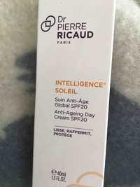 Dr Pierre Ricaud - Intelligence soleil - Soin anti-âge global spf20