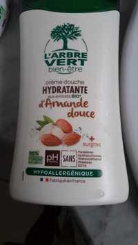 L'Arbre vert - Amande douce bio - Crème douche hydratante