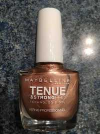 Maybelline - Tenue & strong pro - Vernis professionnel 19-Brun immuable