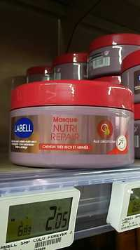 Labell - Masque nutri repair