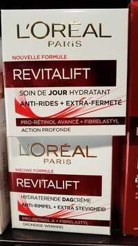 L'ORÉAL - Revitalift - Soin de jour hydratant anti-rides + extra-fermeté