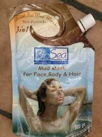 BIOSEA - Mud mask 3 in 1 for face body & hair