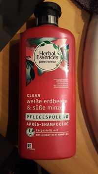 HERBAL ESSENCES - Weiße erdbeere und süße minze - Après-shampooing