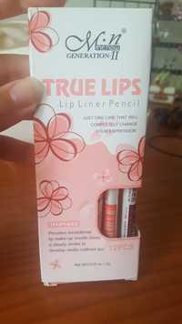 ME NOW GENERATION II - True lips - Lip liner pencil