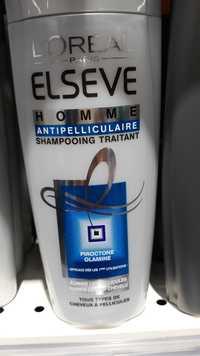 L'Oréal - Elsève homme antipelliculaire - Shampooing traitant