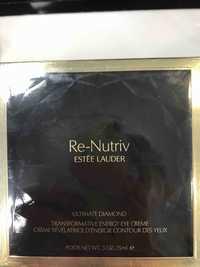 Estee Lauder - Re-Nutriv - Crème révélatrice d'énergie contour des yeux