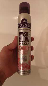 AUSSIE - Wash + Blow in a can Candy Burst - Shampooing sec