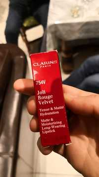 Clarins - Joli rouge velvet - Lipstick
