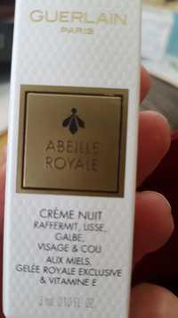 Guerlain - Abeille royale - Crème nuit