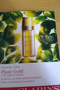 Clarins - L'or des plantes - Émulsion-en-huile nutri-revitalisante